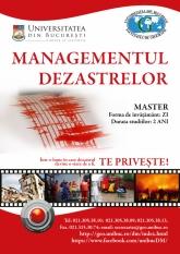"""Intergraph Computer Services susține masterul de """"Managementul Dezastrelor"""""""