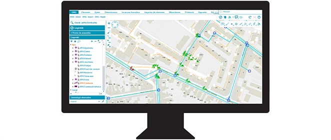 Intelligent management of the water & sewer